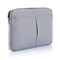 """Чехол для ноутбука 15"""", серый, Длина 38 см., ширина 2,5 см., высота 25,5 см., P788.051"""