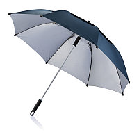 Зонт-трость антишторм Hurricane 27, синий, синий, , высота 96 см., диаметр 120 см., P850.505
