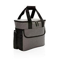 Большая сумка-холодильник Basic, серый; черный, Длина 33 см., ширина 18,5 см., высота 30 см., P422.152