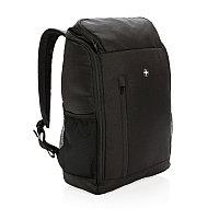 """Рюкзак для ноутбука 15"""" Swiss Peak с RFID защитой, черный, Длина 31 см., ширина 13 см., высота 43 см.,"""