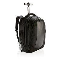 Рюкзак на колесах Swiss Peak, черный, Длина 31 см., ширина 24 см., высота 44,8 см., P742.080