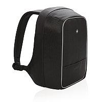Рюкзак для ноутбука Swiss Peak с защитой от карманников, черный, Длина 11 см., ширина 24 см., высота 43 см.,, фото 1
