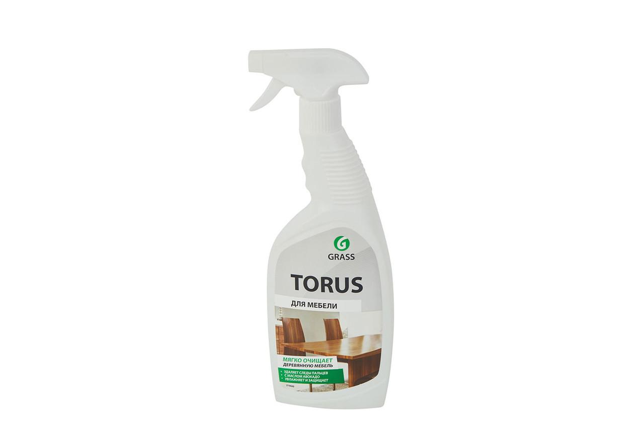 Очиститель-полироль для мебели Torus