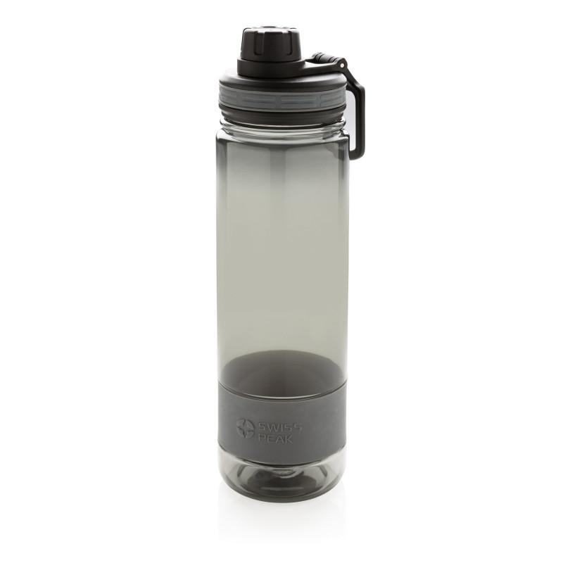 Бутылка для воды Swiss Peak, 750 мл, серый, , высота 25,5 см., диаметр 7 см., P436.090