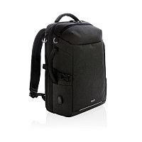 Рюкзак для путешествий Swiss Peak XXL Weekend с RFID защитой и разъемом USB, черный, черный, Длина 28 см.,