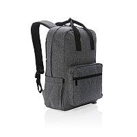 """Рюкзак для ноутбука 15"""", серый, темно-серый, Длина 30 см., ширина 14 см., высота 42 см., P762.442"""