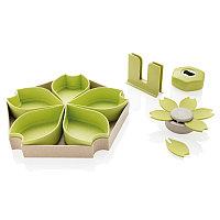 Кухонный набор ECO из 4 предметов, зеленый, зеленый, Длина 7,2 см., ширина 7,4 см., высота 25,5 см., P262.057