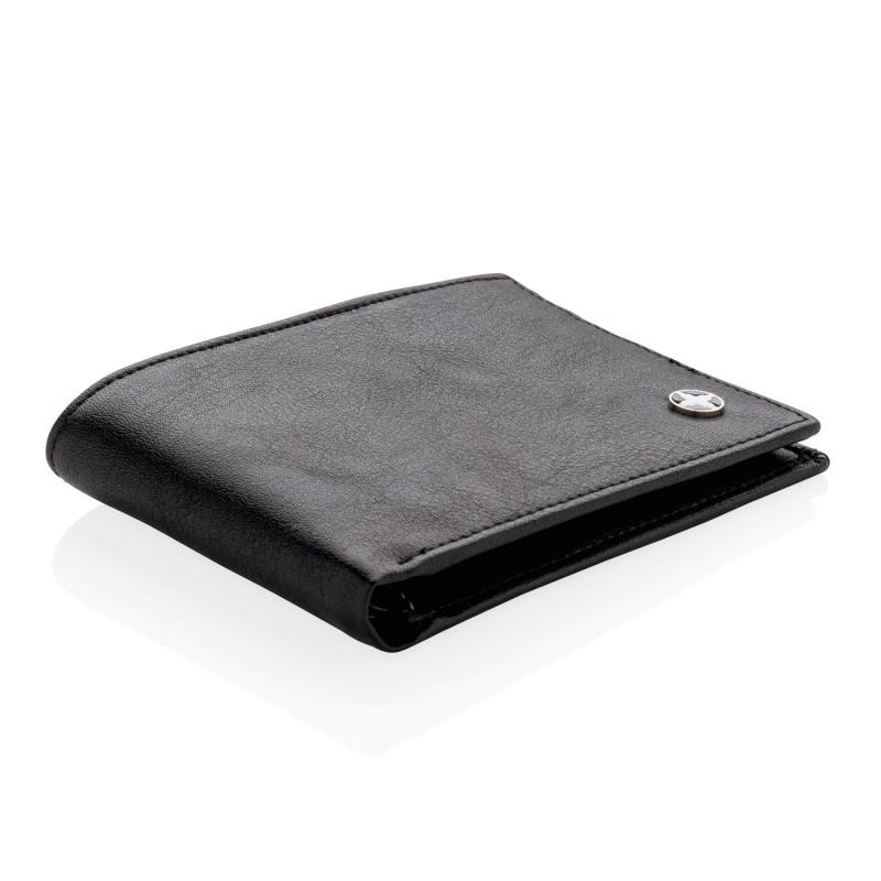 Бумажник Swiss Peak с защитой от сканирования RFID, черный, Длина 0,6 см., ширина 11,5 см., высота 8,3 см.,