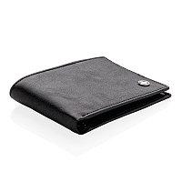 Бумажник Swiss Peak с защитой от сканирования RFID, черный, Длина 0,6 см., ширина 11,5 см., высота 8,3 см., P820.410