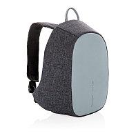 Рюкзак Elle Protective с тревожной кнопкой, голубой, синий; серый, Длина 27 см., ширина 10,5 см., высота 35