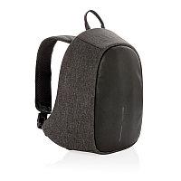 Рюкзак Elle Protective с тревожной кнопкой, черный, черный; серый, Длина 27 см., ширина 10,5 см., высота 35