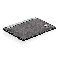 Бумажник Swiss Peak с защитой от сканирования RFID, черный, Длина 0,3 см., ширина 10,3 см., высота 7 см.,