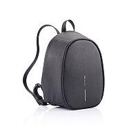 Рюкзак Elle Fashion с защитой от карманников, черный, черный, Длина 22,5 см., ширина 12 см., высота 29,5 см.,