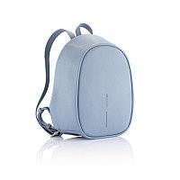 Рюкзак Elle Fashion с защитой от карманников, голубой, голубой, Длина 22,5 см., ширина 12 см., высота 29,5
