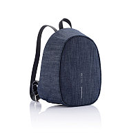 Рюкзак Elle Fashion с защитой от карманников, синий, синий, Длина 22,5 см., ширина 12 см., высота 29,5 см.,