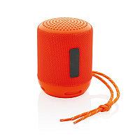 Водонепроницаемая беспроводная колонка Soundboom мощностью 3W, оранжевый, Длина 7,3 см., ширина 7,3 см.,