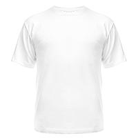 Футболка сублимационная, мужская, белая, XS/44