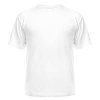 Футболка сублимационная, мужская, белая, XL/52