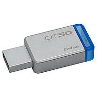 USB-накопитель Kingston DataTraveler® 50  (DT50) 64GB, фото 1