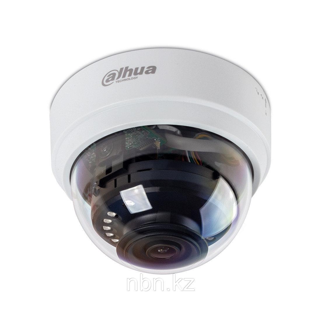 Купольная видеокамера Dahua DH-IPC-HDPW1210TP-0280B