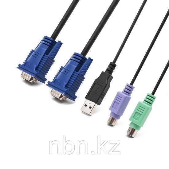 KVM кабель SHIP 1.8М