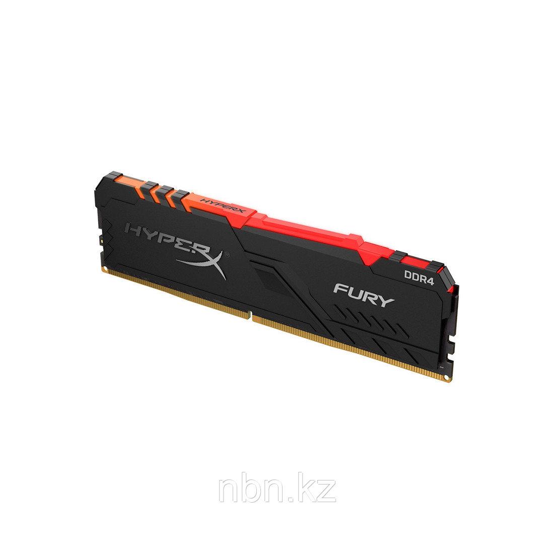 Модуль памяти Kingston HyperX Fury RGB HX430C15FB3A/8 DDR4 8G 3000MHz