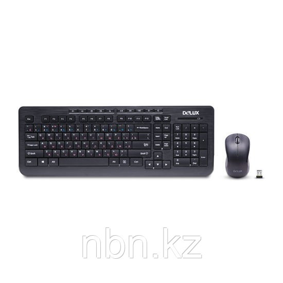 Комплект Клавиатура + Мышь Delux DLD-3191OGB
