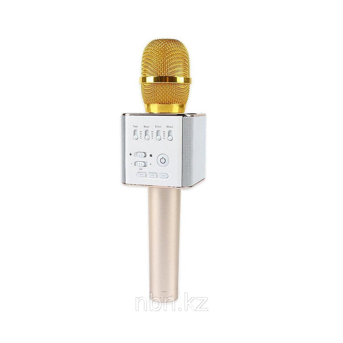 Беспроводной микрофон Q9 Золотой