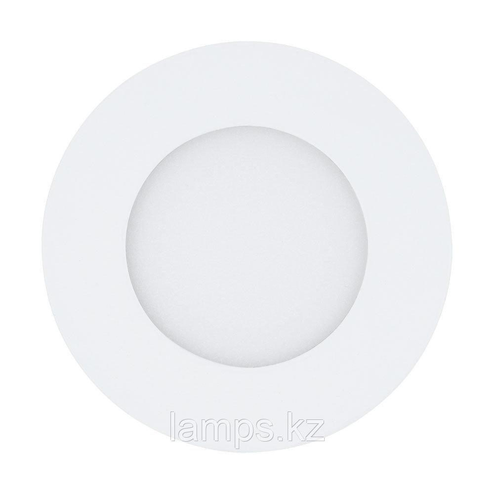 Светильник встраиваемый Eglo 94041 FUEVA  LED 2,7W 3000K