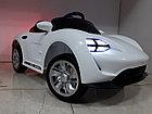 Крутой электромобиль на гелевых колесах Porsche. Порше. Электрокар, фото 4