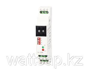 Таймер двух-режимный универсальный TH-206 (TH-216), 0,1сек-99ч. (10ч), 220VAC/24VDC