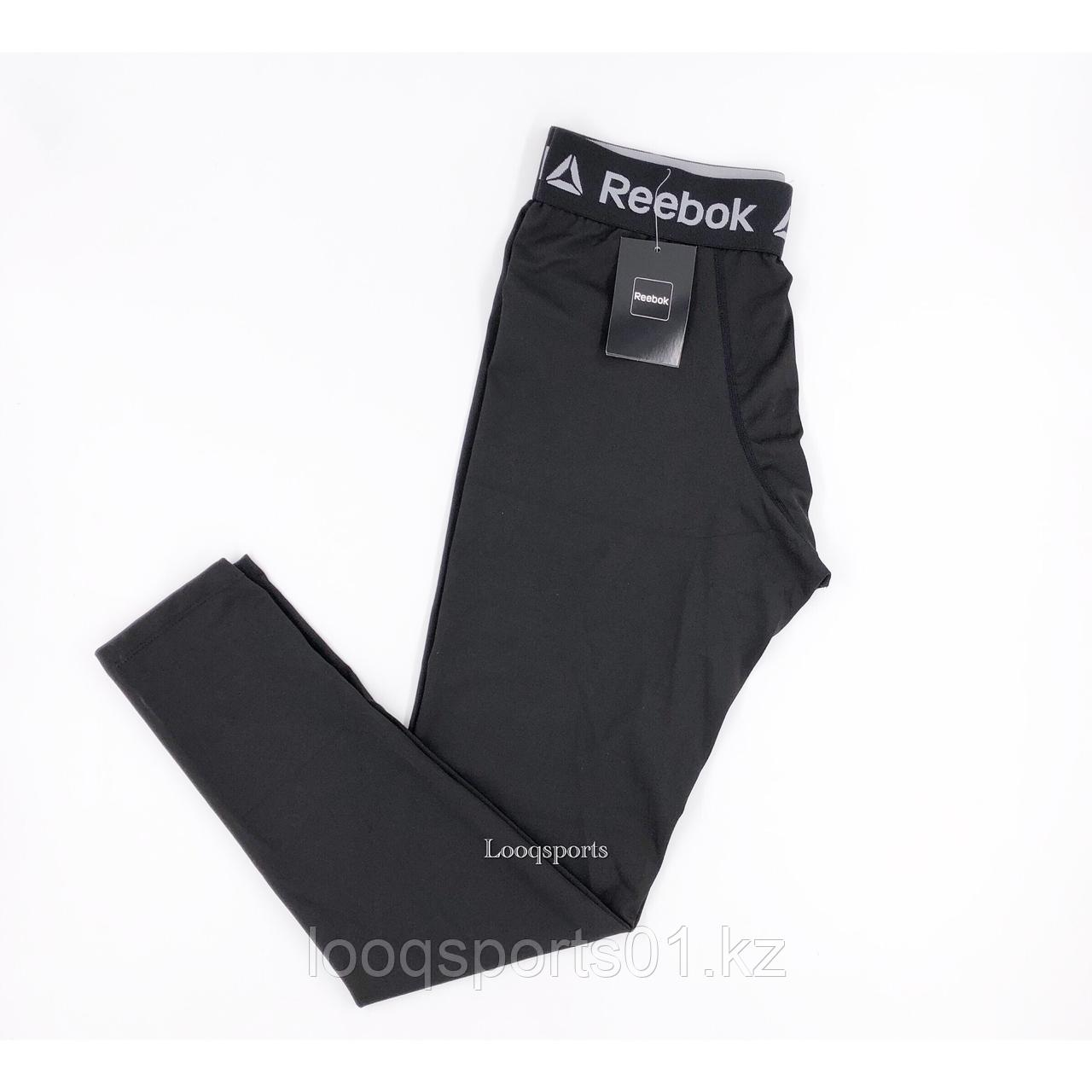 Мужские леггинсы Reebok (лосины для тренировок) компрессионные штаны