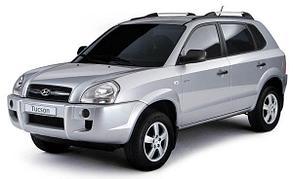 Капот на Hyundai Tucson (2006-2014)