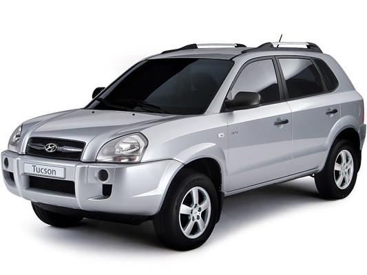 Боковина кузова на Hyundai Tucson (2006-2014)