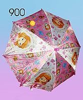 Зонты для девочек, с изображениями героинь из мультфильмов., фото 1