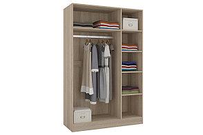 Шкаф для одежды 3Д Уют 1, Белый, Горизонт (Россия), фото 2