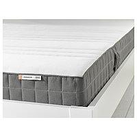 матрас пенополиуретановый  МОРГЕДАЛЬ жесткий, темно-серый, 90x200 см ИКЕА, IKEA, фото 1