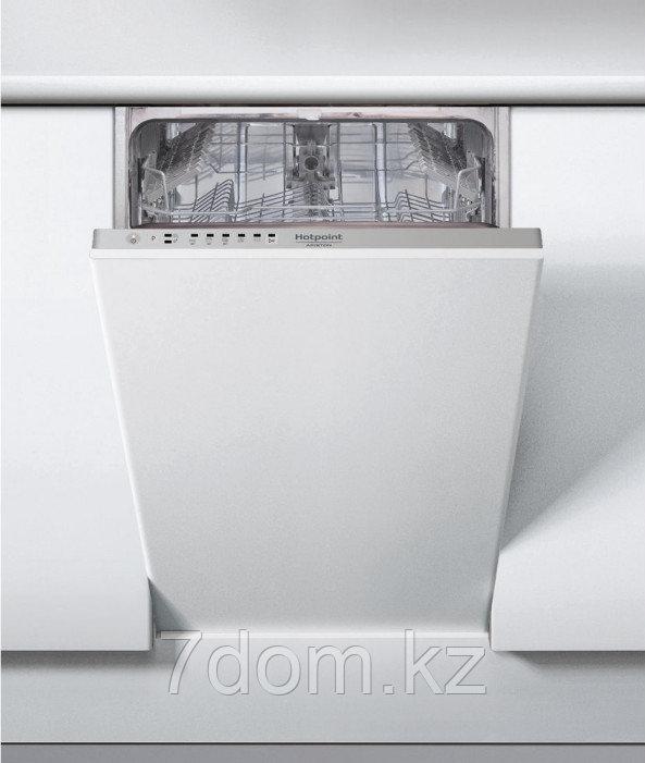 Встраиваемая посудомойка 45 см Hotpoint-Ariston HSIE 2B19