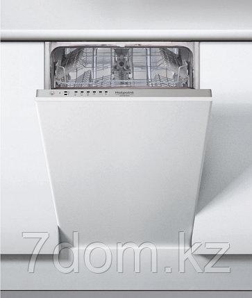 Встраиваемая посудомойка 45 см Hotpoint-Ariston HSIE 2B19, фото 2