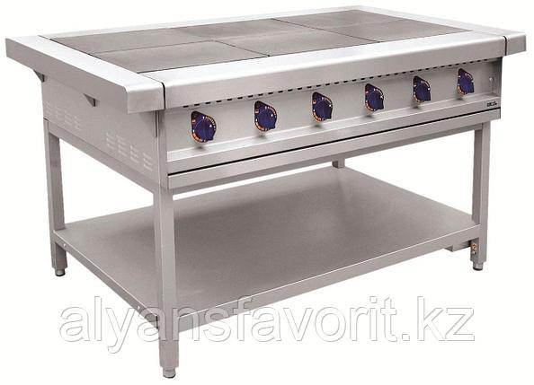 Плита электрическая ABAT ЭП-6П шестиконфорочная без жарочного шкафа (лицевая нерж, серия 900), фото 2