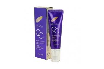 Универсальный СС крем Violet CC Cream [Deoproce]