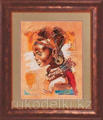 """Набор для вышивания крестом """"Африканка"""""""
