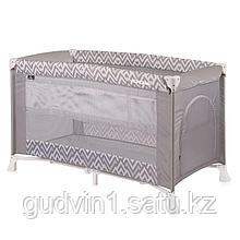 Кровать - манеж Bertoni VERONA 2 Серый / Grey Lines 1941