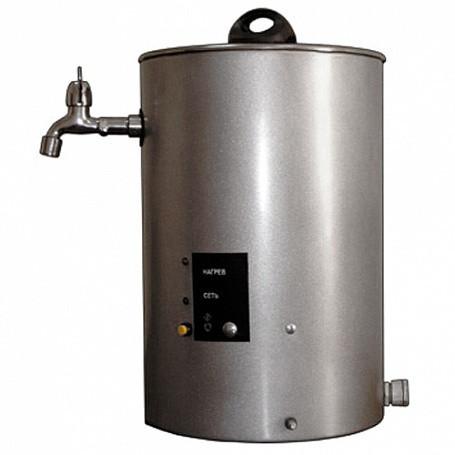 Кипятильник электрический непрерывного действия КНЭ-25-01 нерж.(250х250х360мм, 25л/час, 3,0кВт, 220В, 6,0кг)