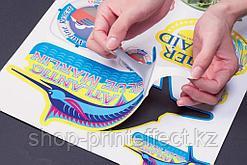 Печать стикеров и наклеек с контурной резкой