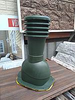 Вентиляционный выход для профиля KBW 125 KRONA, Дюна , Фортуна , Андалузия Зелёный, фото 1