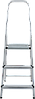 Стремянка алюминиевая 3 ступени, фото 2