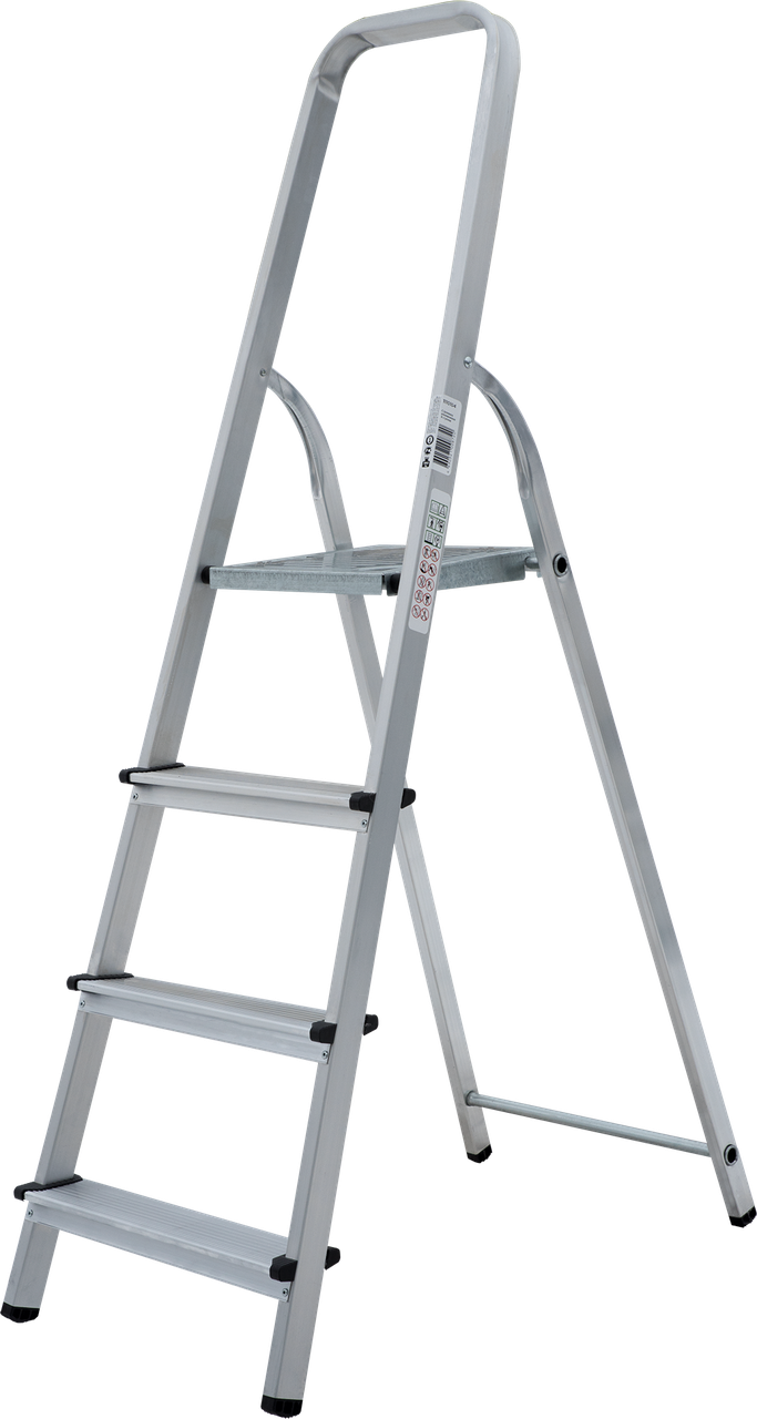 Стремянка алюминиевая 4 ступени