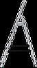 Стремянка алюминиевая 6 ступеней , фото 2