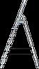 Стремянка алюминиевая 7 ступеней, фото 2